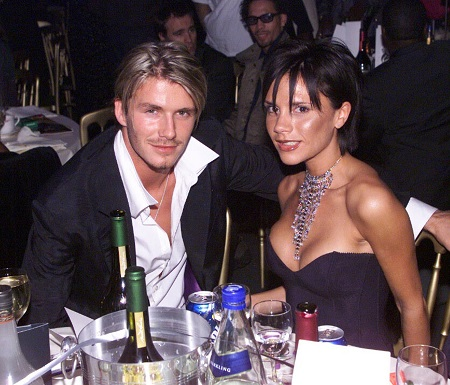 David si Victoria Beckham in anul in care s-au casatorit
