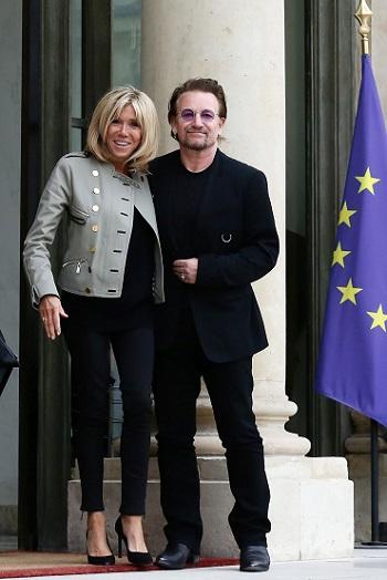 Brigitte Macron cu Bono