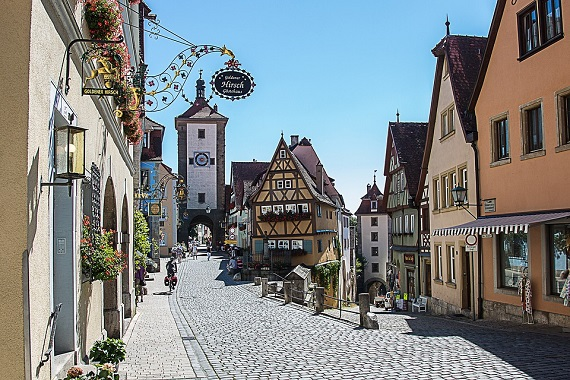 Rothenburg, din Germania, este un orasel de basm