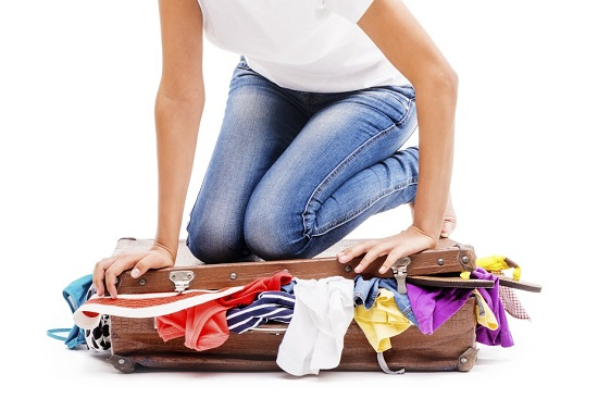 Greseala cand iti faci bagajul: il supraincarci