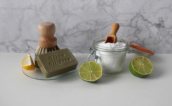 Praf de copt, lamaie verde, lamaie obisnuita, sapun cu ulei de masline