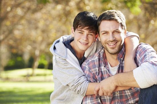 Cresterea baietilor este foarte mult influentata si de factorul genetic