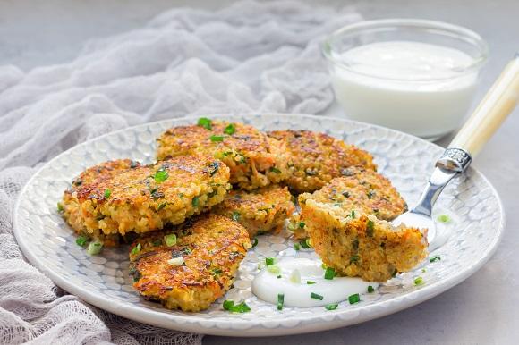 Chiftelute de quinoa