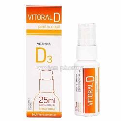 Vitoral D Spray pentru copii