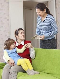 Mama cheama la interviu bona pentru copil