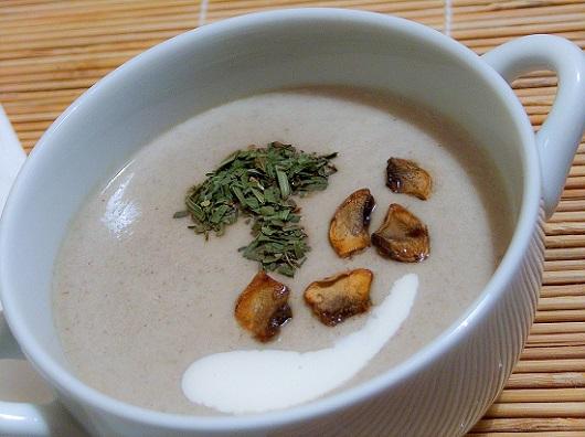 Supa-crema de ciuperci