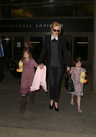 Nicole Kidman si fiicele ei