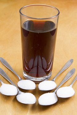 Cat zahar poate contine un pahar de suc acidulat