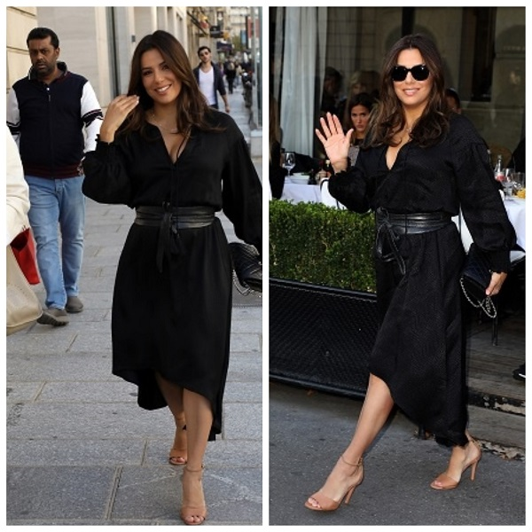 Eva Longoria in Paris