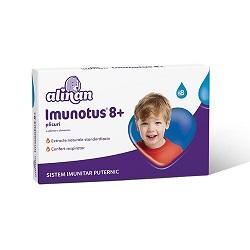 Imunotus pulbere solubila pentru copii mai mari de 8 ani