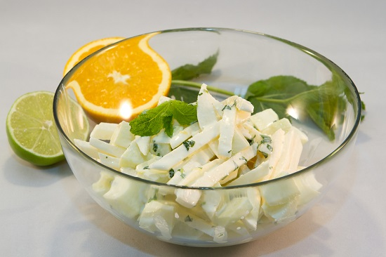 Salata de Jicama