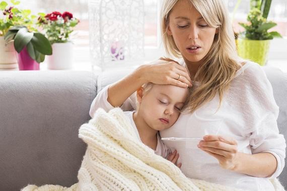 Febra mare- simptom al toxiinfectiei alimentare la copil