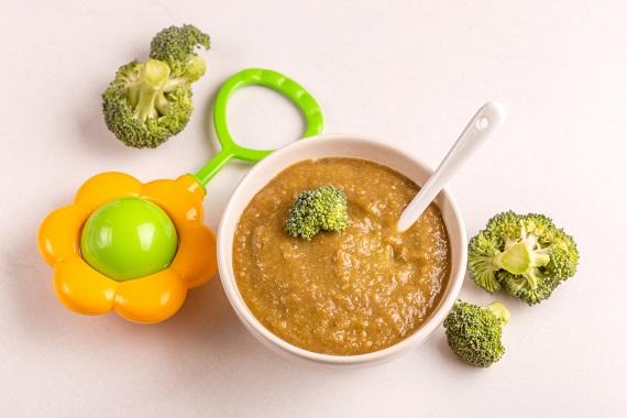 Piure cu broccoli