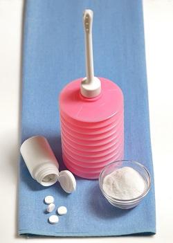 Irigator pentru efectuarea unui dus vaginal