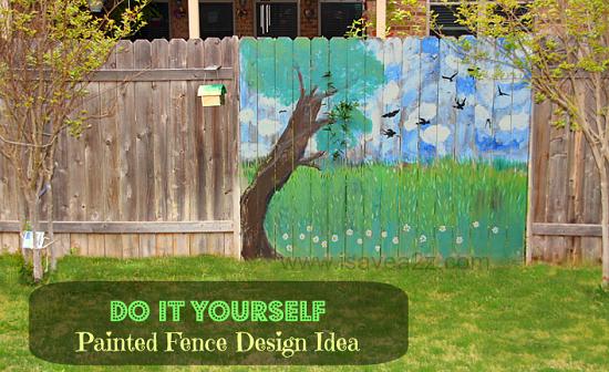 Gard decorat cu anotimpuri