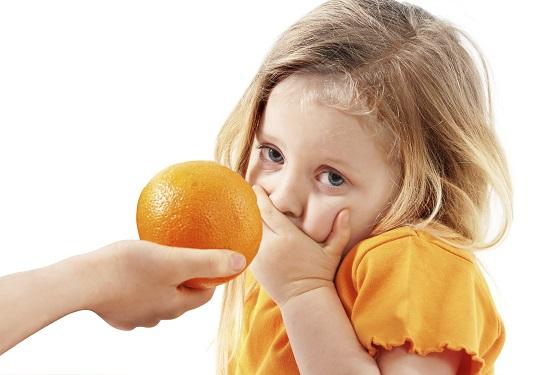 Unii copii pot avea alergie chiar si la portocale