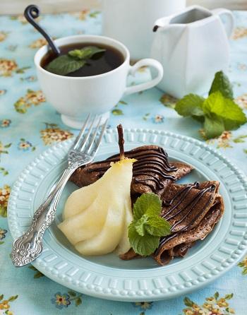 Clatite cu ciocolata