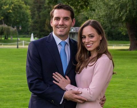 Fostul Principe Nicolae si sotia sa, Alina Binder