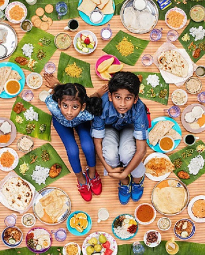 Alimente pe care le consuma de obicei copiii din India