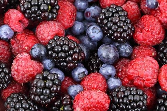 Diverse fructe de padure