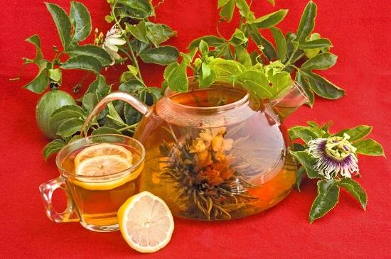 Ceai cu passiflora si lamaie