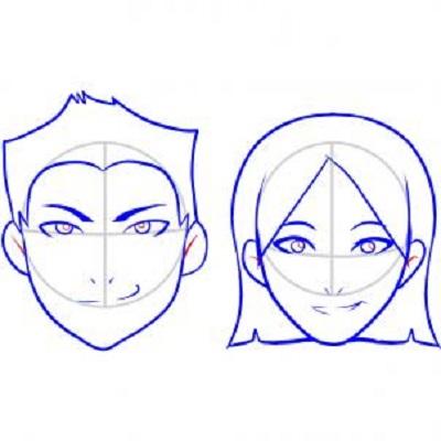 Cum sa desenezi o fata-etapa 4