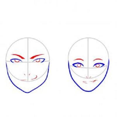 Cum sa desenezi o fata- etapa 3