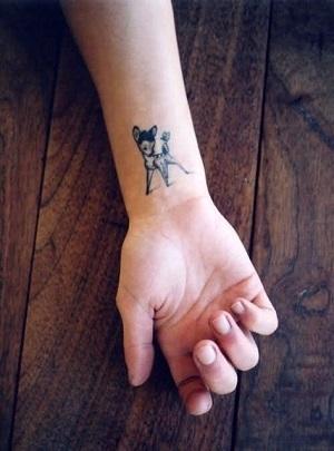 Tatuaj cu Bambi