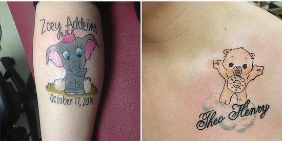 Tatuaj cu Dumbo
