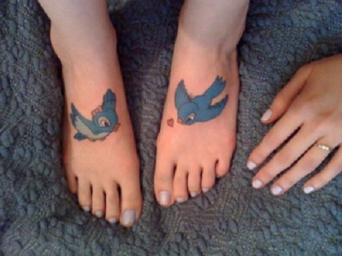 Tatuaj inspirat din desenul animat Bambi
