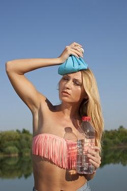 Apa este un remediu bun pentru arsurile solare