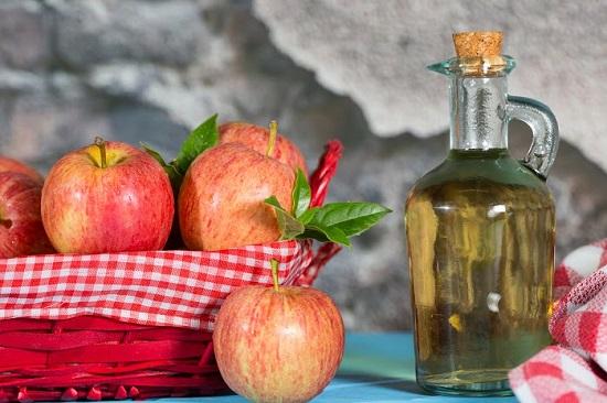 Otetul de mere, remediu pentru arsurile solare
