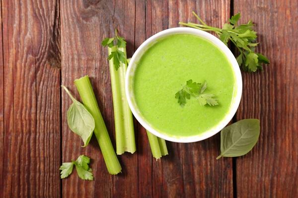 Supa de telina verde