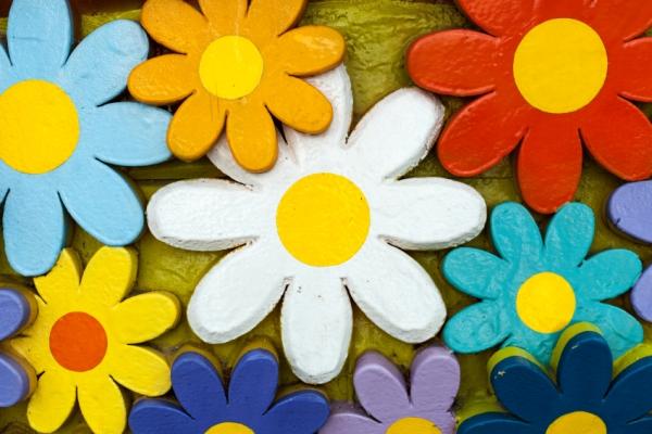 Flori De Primavara De Decupat Si Colorat Căutare Google In 2020