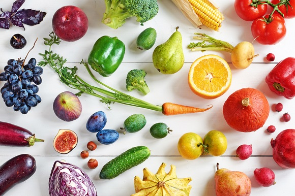 Diverse fructe si legume