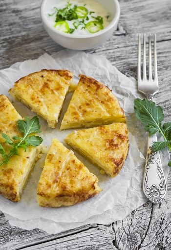 Tortilla din cartofi