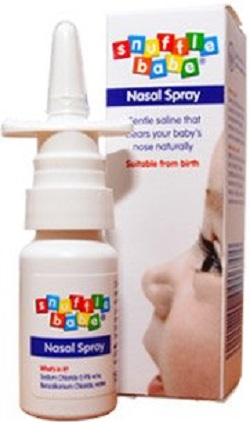 Spray nazal de la Snufflebabe