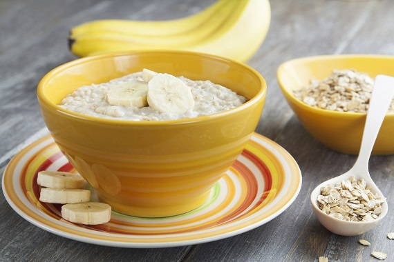 Cereale cu banana