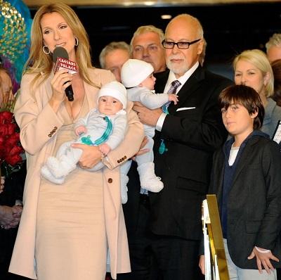 Copiii lui Celine Dion s-au nascut prin fertilizarea in vitro