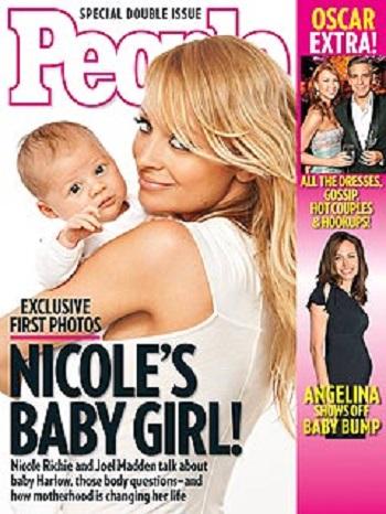 Prima poza a fiicei lui Nicole Richie