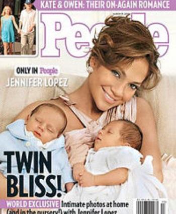 Fotografie scumpa a bebelusilor lui Jennifer Lopez