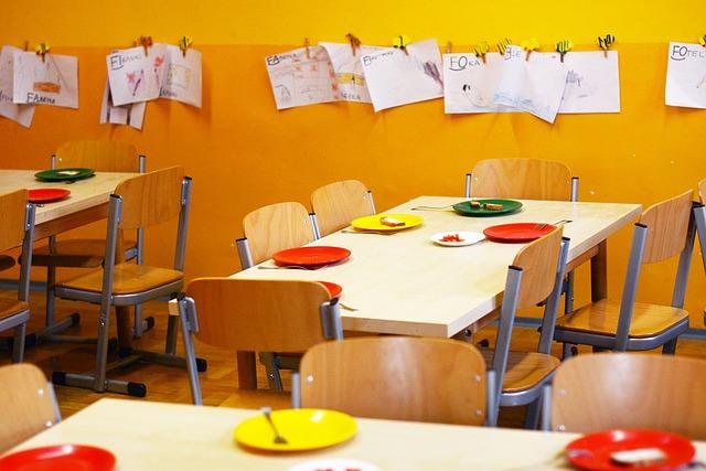 sala de clasa cu desene