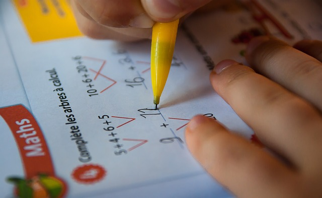 copil care scrie