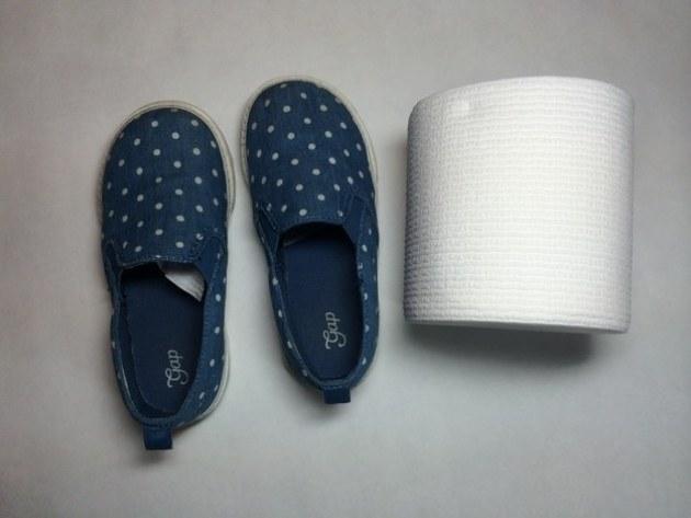 hartie igienica in papuci