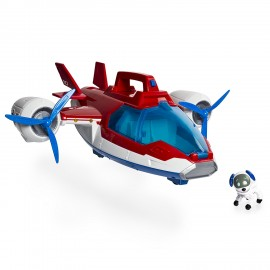 Set de joaca Patrula Catelusilor - Robo Dog si avionul Air Patroller