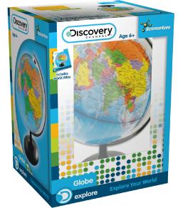 Discovery Glob pamantesc + Atlas