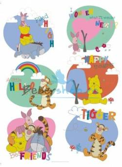 Autocolant Disney Winnie the Pooh