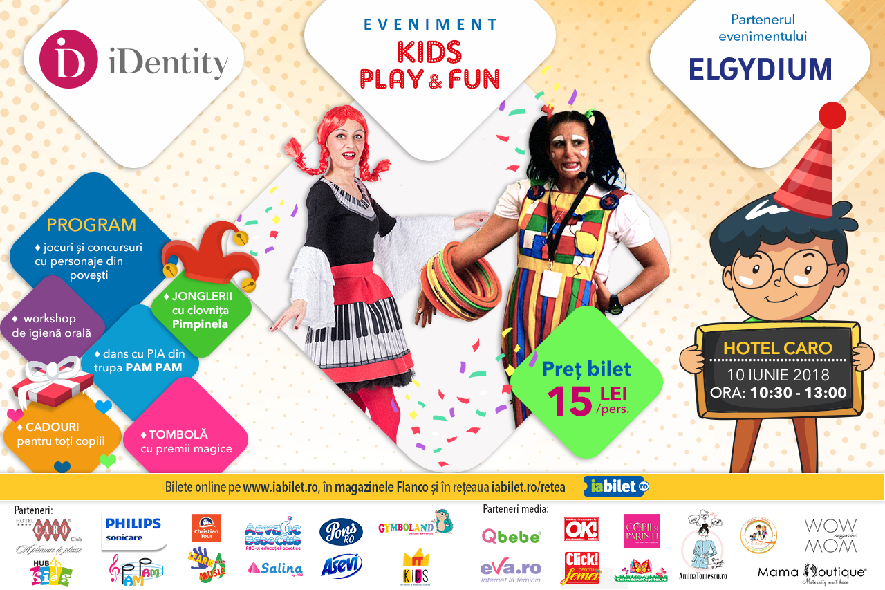 eveniment kids play and fun