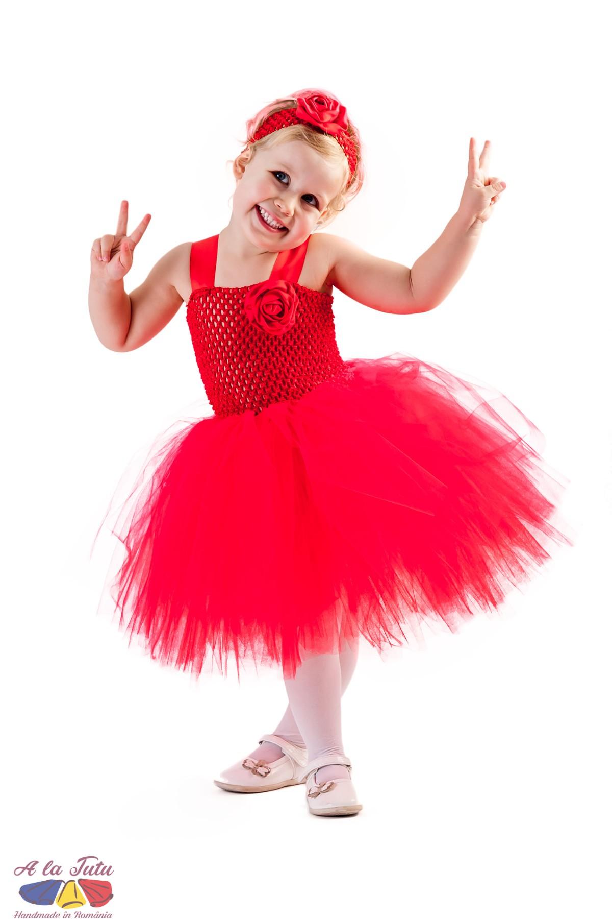 Rochita tutu Lady in red