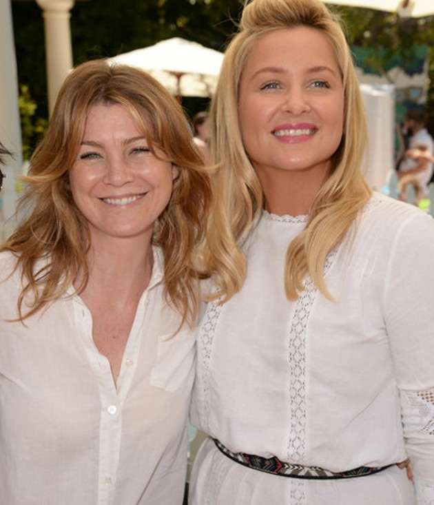 Ellen Pompeo şi Jessica Capshaw